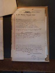 Canadian Death Certificate