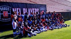 Photo Of All  The 2010 NFl Players At The Rookie Premiere in Los Angeles , Ca. on May 22,2010.