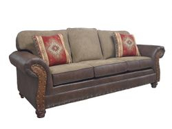 #530-69 Palance Sable, Outwest Tumbleweed, Galveston pillows & Ostrich panels