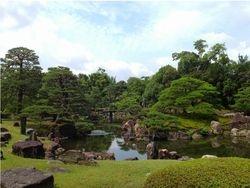 Ninomaru Garden in summer