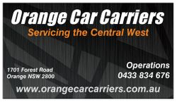 Orange Car Carriers