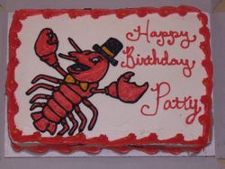 Dancing Lobster Cake