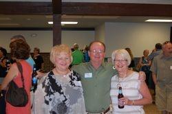 Wanda McCulley Petricek, Richard Jones and LeeAnn Bentler Jones