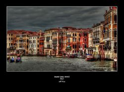 Grand Canal Venice - Italy