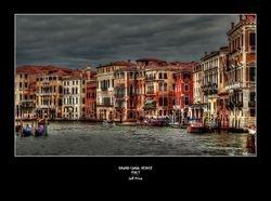 Grand Canal Venice - Italy