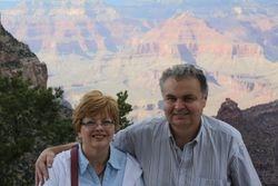 Lynda and Randy at Grand Canyon