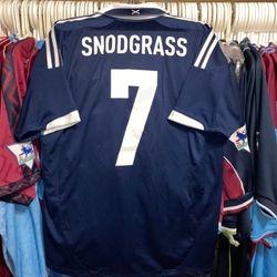 Robert Snodgrass worn Scotland shirt.