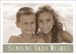 Sending Warm Wishes Holiday Card