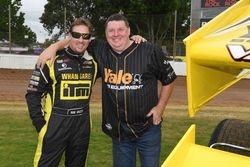 Rob Vazey and Sponsor Steve Gordon