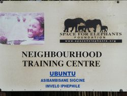 a unplanned stop found us staying overnight with the SPACE FOR ELEPHANTS FOUNDATION