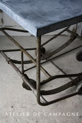 #23/283 Industrial Table/ Cart detail
