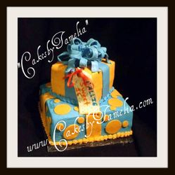 A present for me cake