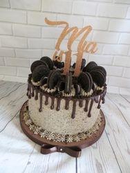 11th birthday oreo drip cake
