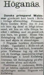 Prins Waldemar 15 augusti 1899