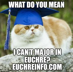 What do you mean I can't major in Euchre?