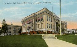 HOLLYWOOD HIGH SCHOOL, 1910