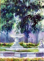 Audubon Park Fountain