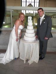5 Teir Wedding Cake
