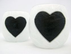 White and Black Country Heart