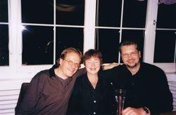 With Han & Olga, Arosa, Switzerland, 1999