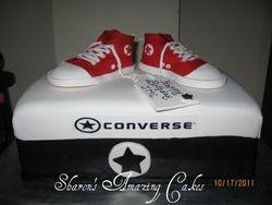 CAKE 37A2 -Converse Sneakers Cake