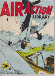 Air Action Library War Comic (Aust)