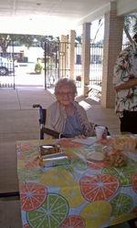 Doris Pays a Visit!