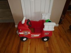 Little Tikes Spray & Rescue Fire Truck Cozy Coupe - $40