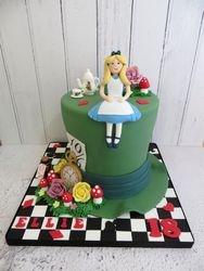 Madhatter Birthday Cake