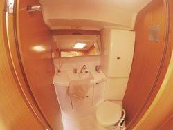 Front master toilet