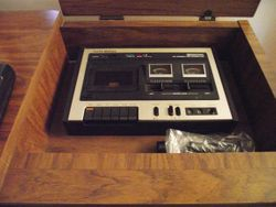 """A very """"high end"""" Curtis Mathis console."""
