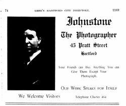 Christopher Johnstone, photographer, Hartford, CT