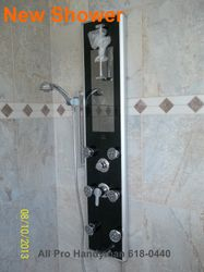 New shower install