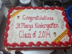 Congrats to Kindergartners