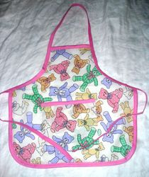 Teddy Bear Toddler apron - sold