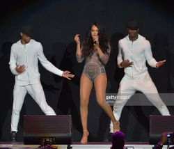 Demetria McKinney performs at American Airlines Arena on May 28, 2016 in Miami, Florida.