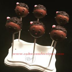 Pretty Girl Cake Pops