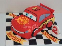 Lightning Mcqueen Cake (B033)