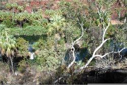 Overlooking Indarri Falls