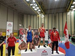 Ismail Ayyoub - 1st place at Cadet Nationals 2018