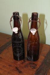 Pieno sampano butelis. Kaina 11 Eur.