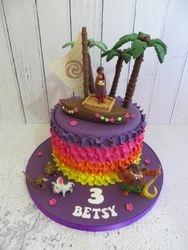 Betsy's 3rd Birthday Cake