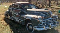 31. 48 Pontiac Silver Streak rolling body
