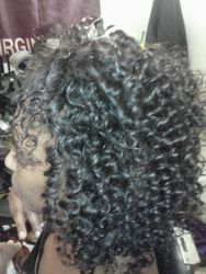 Malaysian Tree Braid closure with sew-in