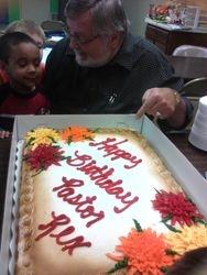 Pastor's Birthday Cake