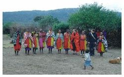 Massai Tribal Dress