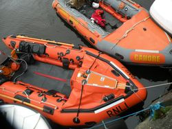 RNLI and CRBI side by side