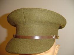Officer SD cap large square peak £95