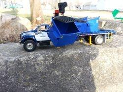 boom container del truck