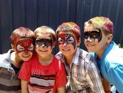 Batman & Spiderman party